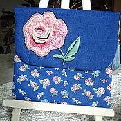 Сумки и аксессуары handmade. Livemaster - original item Bag embroidered storage secrets. Handmade.