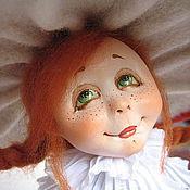"""Куклы и пупсы ручной работы. Ярмарка Мастеров - ручная работа девочка-""""Мухоморка"""". Handmade."""