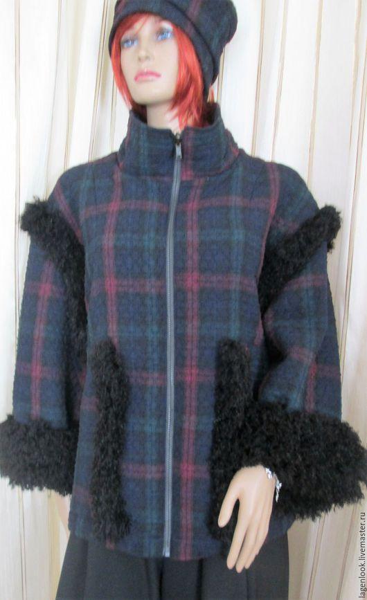 Большие размеры ручной работы. Ярмарка Мастеров - ручная работа. Купить Куртка с шапочкой. Handmade. Куртка, шапка женская
