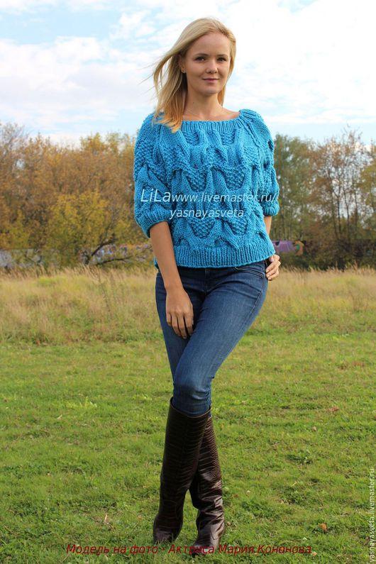 Вязанные свитера женские доставка
