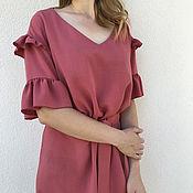 Платья ручной работы. Ярмарка Мастеров - ручная работа Платье из вискозы. Handmade.