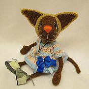 Куклы и игрушки ручной работы. Ярмарка Мастеров - ручная работа Кошечка Ирис. Handmade.