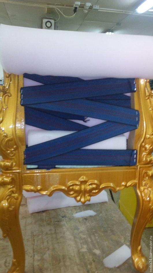 Мебель ручной работы. Ярмарка Мастеров - ручная работа. Купить Кресло (банкетка). Handmade. Коричневый, банкетка, сосна