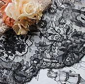 Винтаж ручной работы. Ярмарка Мастеров - ручная работа Старинное кружево шантильи. Handmade.