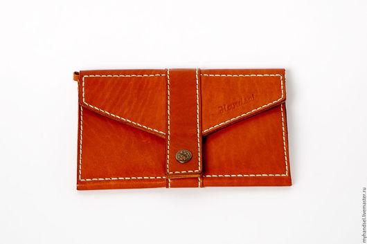 Клатч для документов и путешествий / кожа быка/ исключительно ручная работа/ 4000 рублей/ Приглашаем Вас в гости http://vk.com/myhandsel
