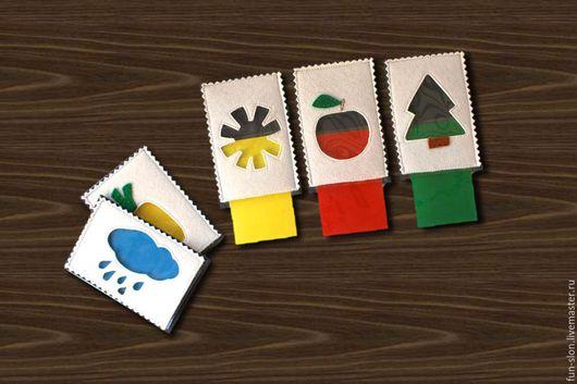 Развивающие игрушки ручной работы. Ярмарка Мастеров - ручная работа. Купить Развивающая игра Учим цвета. Handmade. Развивающая игрушка