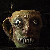 Посуда ручной работы. Ярмарка Мастеров - ручная работа кружка зомби1. Handmade.