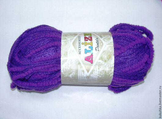 Вязание ручной работы. Ярмарка Мастеров - ручная работа. Купить Пряжа Dantela Alize. Handmade. Разноцветный, пряжа для отделки