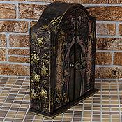 """Для дома и интерьера ручной работы. Ярмарка Мастеров - ручная работа Ключница    """" Волшебная дверь"""". Handmade."""