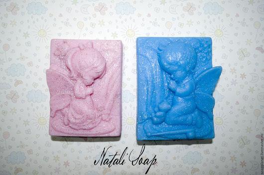 Мыло ручной работы. Ярмарка Мастеров - ручная работа. Купить Ангелочки ( набор). Handmade. Комбинированный, мыло ручной работы