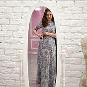 Одежда ручной работы. Ярмарка Мастеров - ручная работа Платье на запах. Handmade.