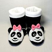 Обувь ручной работы handmade. Livemaster - original item Panda Slippers. Handmade.