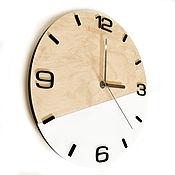 Для дома и интерьера handmade. Livemaster - original item Wall clock in Scandinavian style. Handmade.