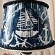 """Освещение ручной работы. Заказать Лампа / светильник """"На яхте"""". Морская романтика. Морской стиль.. Лавка Штукаря. Lavka Shtukar.. Ярмарка Мастеров."""