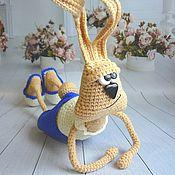 Куклы и игрушки handmade. Livemaster - original item Good morning hare !. Handmade.