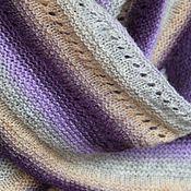 Аксессуары handmade. Livemaster - original item Shawl Lavender (Danish shawl traditional). Handmade.