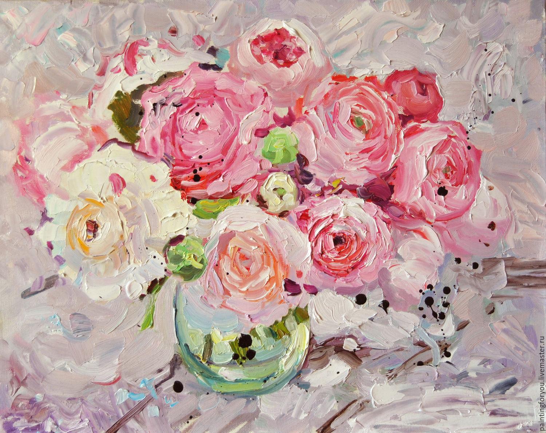 Слова к фото девушка с цветами
