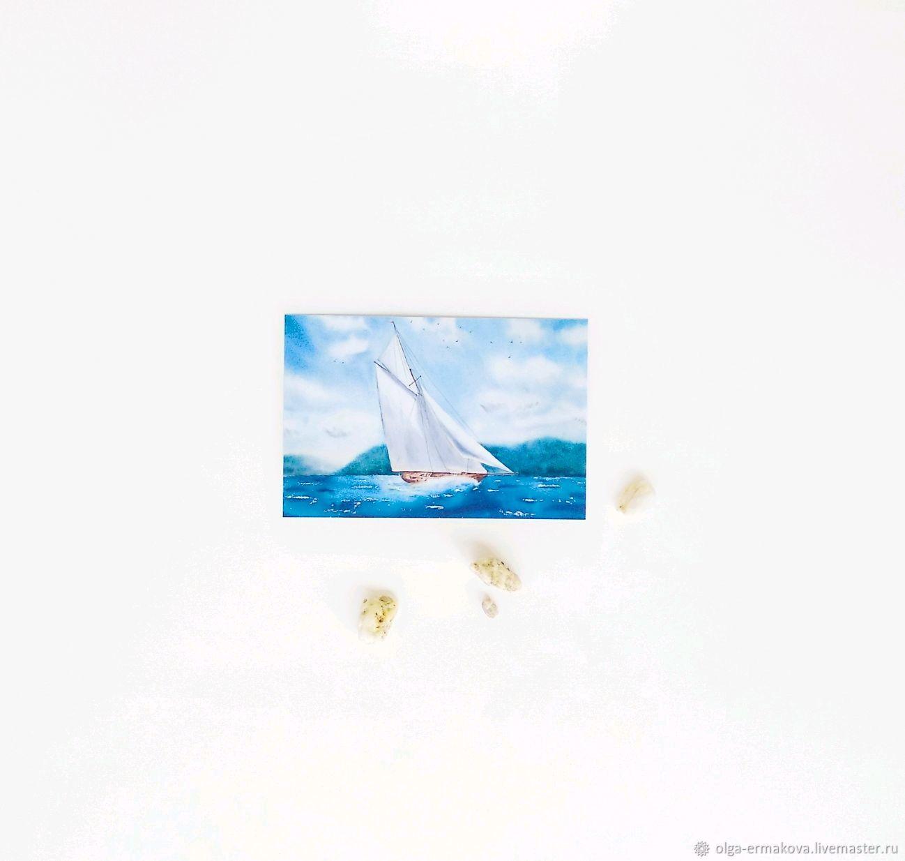 Открытки, открытки почтовые с кораблями
