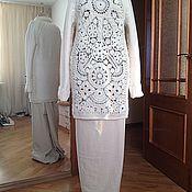 Одежда handmade. Livemaster - original item Wool tunic hand knit