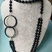 Украшения handmade. Livemaster - original item Necklace from aventurine. Handmade.