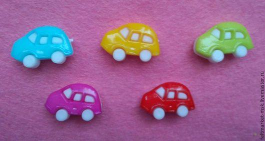 Пуговицы `Машинка` 6 цветов Размер 25 мм Стоимость 8 руб./шт. При заказе указывайте нужный цвет и количество!