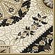 Декупаж и роспись ручной работы. Ярмарка Мастеров - ручная работа. Купить Орнамент ч/б (SLOG024401) - салфетка для декупажа. Handmade. Разноцветный