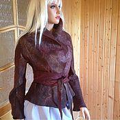 Одежда ручной работы. Ярмарка Мастеров - ручная работа Жакет валяный Португалия чемпион. Handmade.