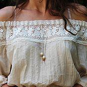 Одежда handmade. Livemaster - original item Blouse to the skirt