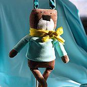 Мягкие игрушки ручной работы. Ярмарка Мастеров - ручная работа Заяц Джонни. Handmade.