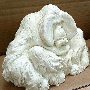 Для дома и интерьера ручной работы. Ярмарка Мастеров - ручная работа Скульптура обезьяны. Handmade.