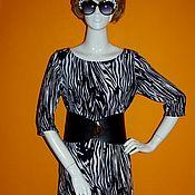 """Одежда ручной работы. Ярмарка Мастеров - ручная работа Платье """" Zebra"""". Handmade."""