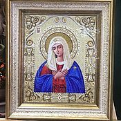 Картины и панно handmade. Livemaster - original item Icon Of The Virgin