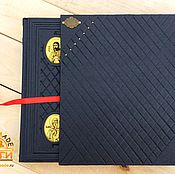Подарки к праздникам handmade. Livemaster - original item ICONS leather bound gift book. Handmade.