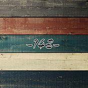 Для дома и интерьера ручной работы. Ярмарка Мастеров - ручная работа Фотофон цветные полосатые доски. Handmade.