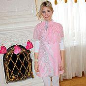Одежда ручной работы. Ярмарка Мастеров - ручная работа Платье валяное Розовое облако. Handmade.