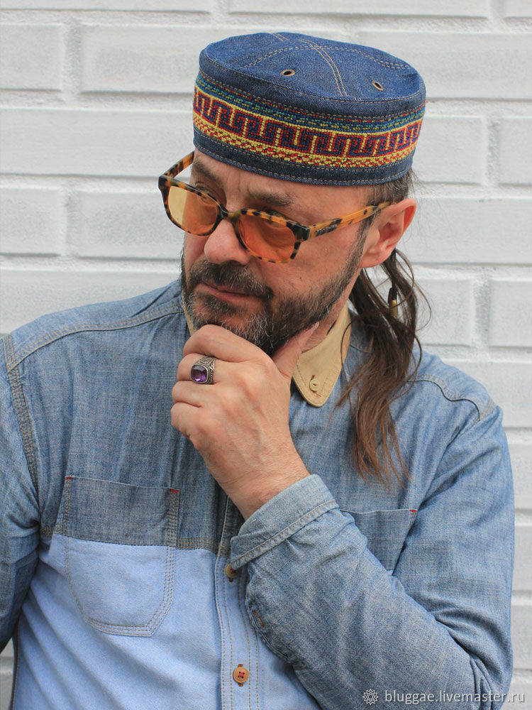 1f20283a634d1 Hats handmade. Livemaster - handmade. Buy African kufi hat