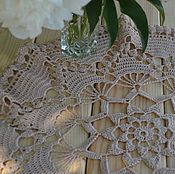 Для дома и интерьера handmade. Livemaster - original item Doily crocheted