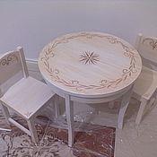 Для дома и интерьера ручной работы. Ярмарка Мастеров - ручная работа детский столик. Handmade.