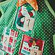 """Новый год 2017 ручной работы. Адвент-календарь """"ЕЛОЧКА"""". Антонина (Ruki-kruki). Ярмарка Мастеров. Для детей и взрослых"""