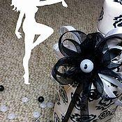 Посуда ручной работы. Ярмарка Мастеров - ручная работа Черное на белом. Handmade.