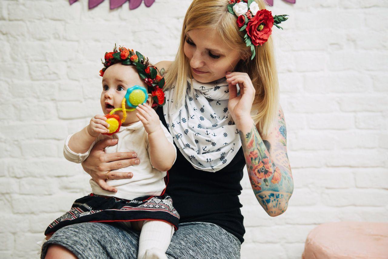Повязка для малышки, Резинка для волос, Москва,  Фото №1