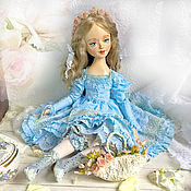 Dolls handmade. Livemaster - original item Adele, the boudoir doll. Handmade.