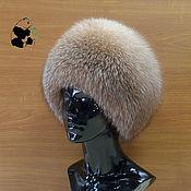 Аксессуары handmade. Livemaster - original item Hat fur women`s Fox fur moth. Art. AB-15. Handmade.