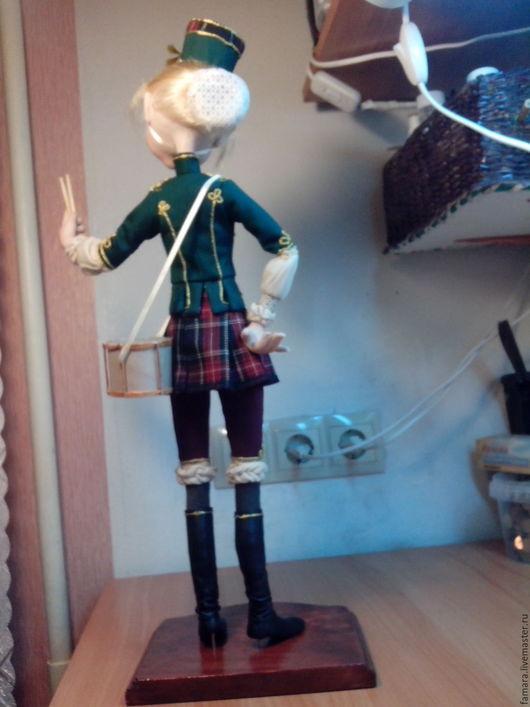 Коллекционные куклы ручной работы. Ярмарка Мастеров - ручная работа. Купить Жанетта. Handmade. Тёмно-зелёный, карнавальные костюмы, уверенность