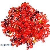 Материалы для творчества handmade. Livemaster - original item 10g Toho MIX 3208 red Japanese seed beads, TOHO Momiji. Handmade.