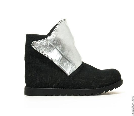 Обувь ручной работы. Ярмарка Мастеров - ручная работа. Купить Летние ботинки 8-291-01 (сч). Handmade. casual