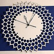 """Для дома и интерьера ручной работы. Ярмарка Мастеров - ручная работа Часы """"Солнце"""". Handmade."""