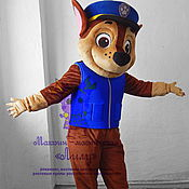 "Дизайн и реклама handmade. Livemaster - original item Chase ""PAW Patrol"". Life-size puppet. Handmade."
