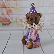 Мишки Тедди ручной работы. Ярмарка Мастеров - ручная работа Тедди мишка клоун Бим. Handmade.