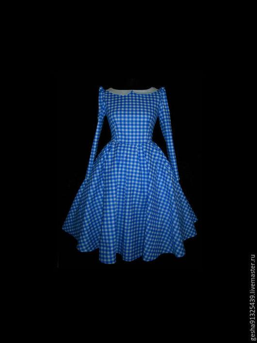 """Платья ручной работы. Ярмарка Мастеров - ручная работа. Купить Платье """"Лазуревые Росы"""". Handmade. Голубой, Платье красивое"""